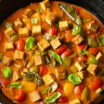 Best Panang Curry Recipe with Crispy Tofu #ASpicyPerspective #vegetarian #curry #thai #tofu #asian #healthy #glutenfree
