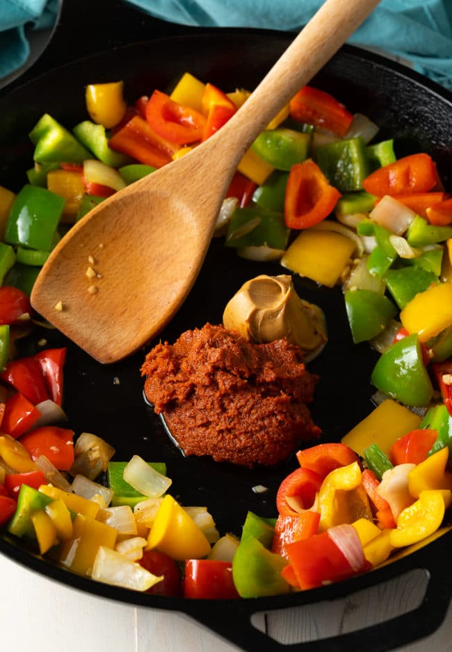 How To Make Panang Curry Recipe with Crispy Tofu #ASpicyPerspective #vegetarian #curry #thai #tofu #asian #healthy #glutenfree