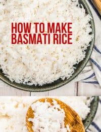 How To: Basmati Rice #ASpicyPerspective #rice #howto #basmati #indian #glutenfree