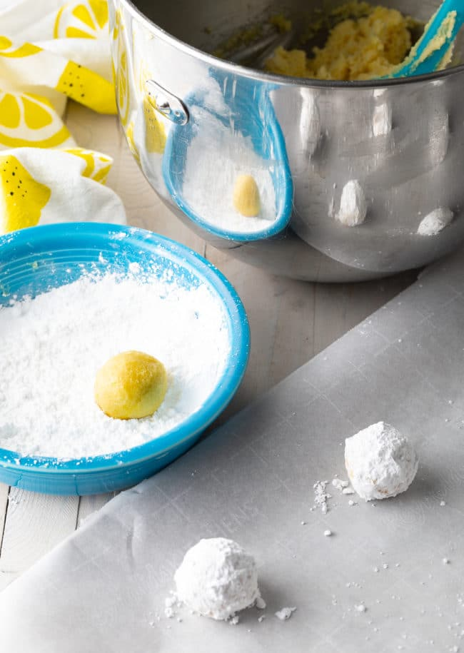 How To: Lemon Crinkle Cookies Recipe #ASpicyPerspective #cookies #lemon #christmas #easter #best #easy