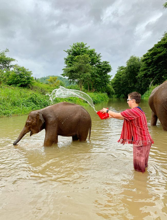 Elephant Camp - Travel Tips #ASpicyPerspective #vacation #thailand #asia #trip #travel