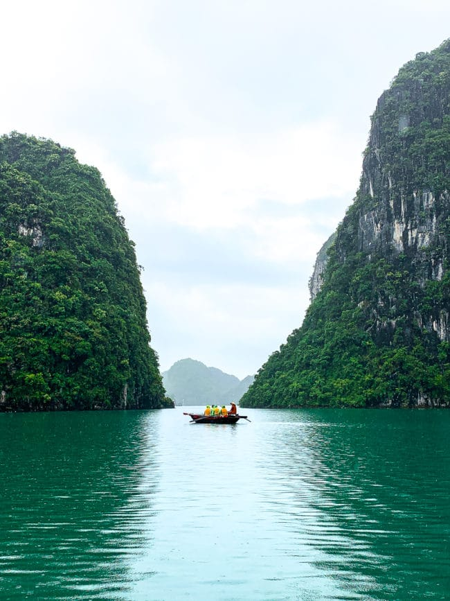 Halong Bay Vietnam: The Ultimate Foodie Destination #ASpicyPerspective #vietnam #asia #travel #vacation #trip
