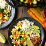 Calabacitas Con Queso Recipe #ASpicyPerspective #squash #vegetarian #mexican #sidedish #glutenfree