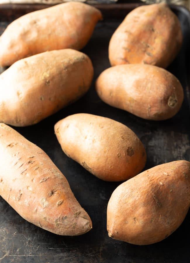 Sweet Potatoes Recipe #ASpicyPerspective #thanksgiving #holiday #glutenfree #sidedish #sweet #potato
