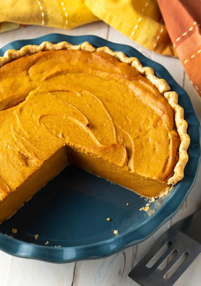 Southern Sweet Potato Pie Recipe #ASpicyPerspective #pie #thanksgiving #holiday #sweetpotato