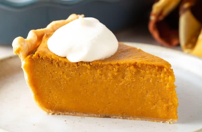 Old Fashioned Sweet Potato Pie Recipe #ASpicyPerspective #pie #thanksgiving #holiday #sweetpotato