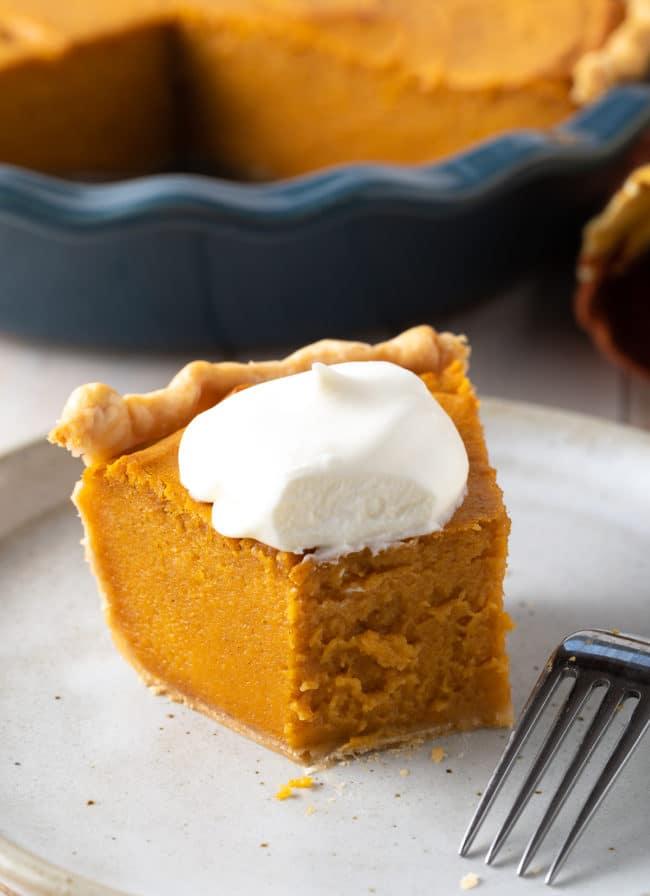 Thanksgiving Sweet Potato Pie Recipe #ASpicyPerspective #pie #thanksgiving #holiday #sweetpotato