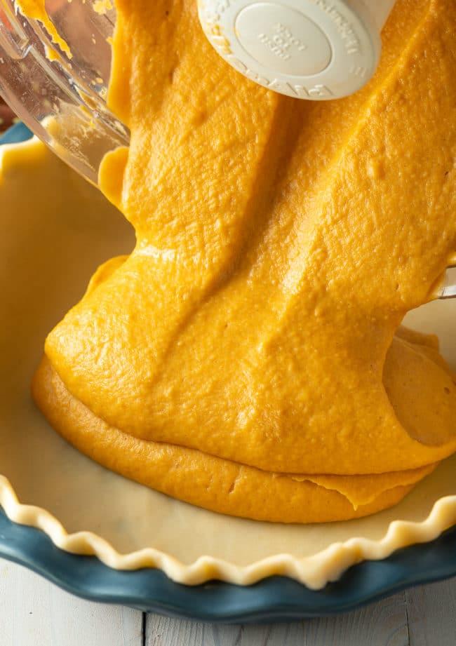 Homemade Sweet Potato Pie Recipe #ASpicyPerspective #pie #thanksgiving #holiday #sweetpotato