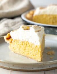 Tres Leches Pie Recipe (Cake in a Pie!) #ASpicyPerspective #cake #pie #thanksgiving #creampie