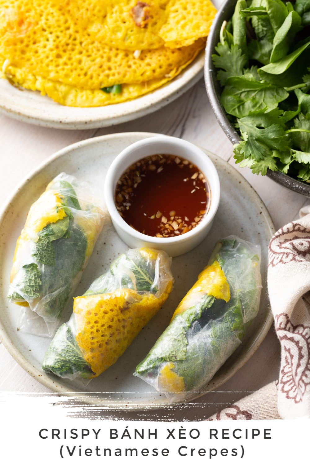 Best Bánh Xèo Recipe Vietnamese Crepes A Spicy Perspective
