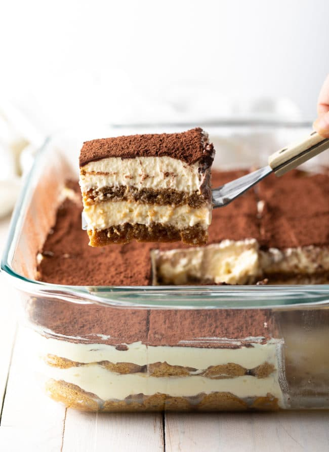 The BEST Tiramisu Recipe Ever! #ASpicyPerspective #italian #mascarpone #espresso #holiday #dessert