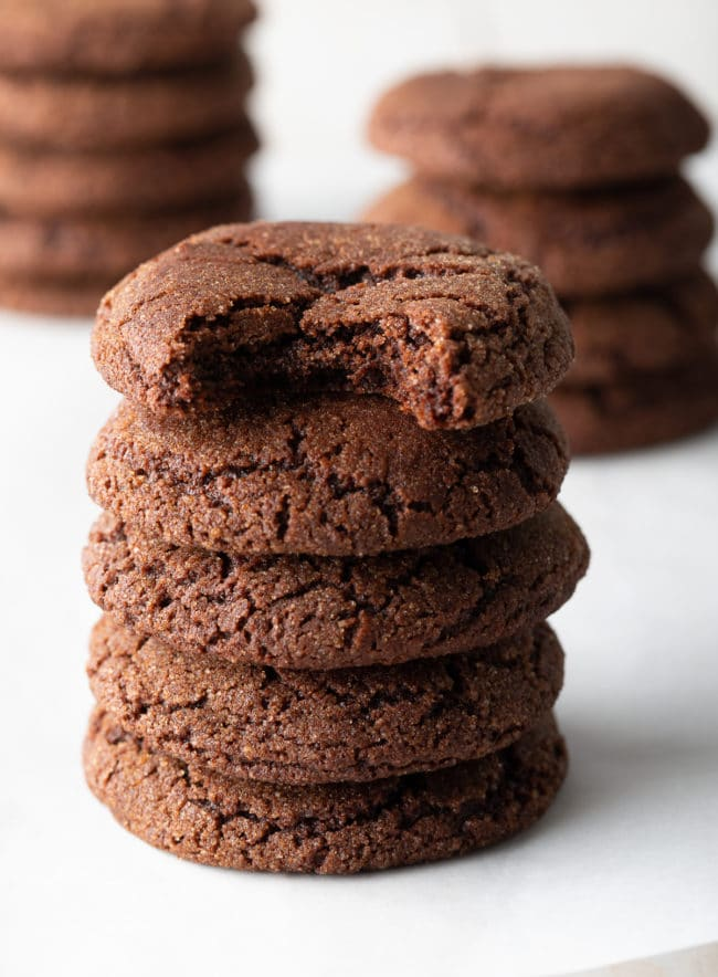 Chocolate Snickerdoodles Recipe (Snickerdoodle Cookies!) #ASpicyPerspective #cookie #cookies #christmas #holiday #chocolate #cinnamon