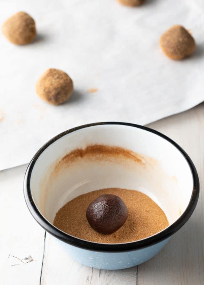 Making Snickerdoodle Cookie Recipe #ASpicyPerspective #cookie #cookies #christmas #holiday #chocolate #cinnamon