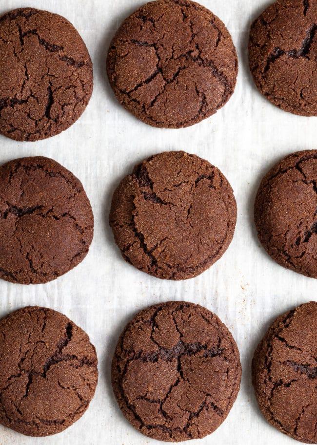 Best Chocolate Snickerdoodles Recipe (Snickerdoodle Cookies!) #ASpicyPerspective #cookie #cookies #christmas #holiday #chocolate #cinnamon