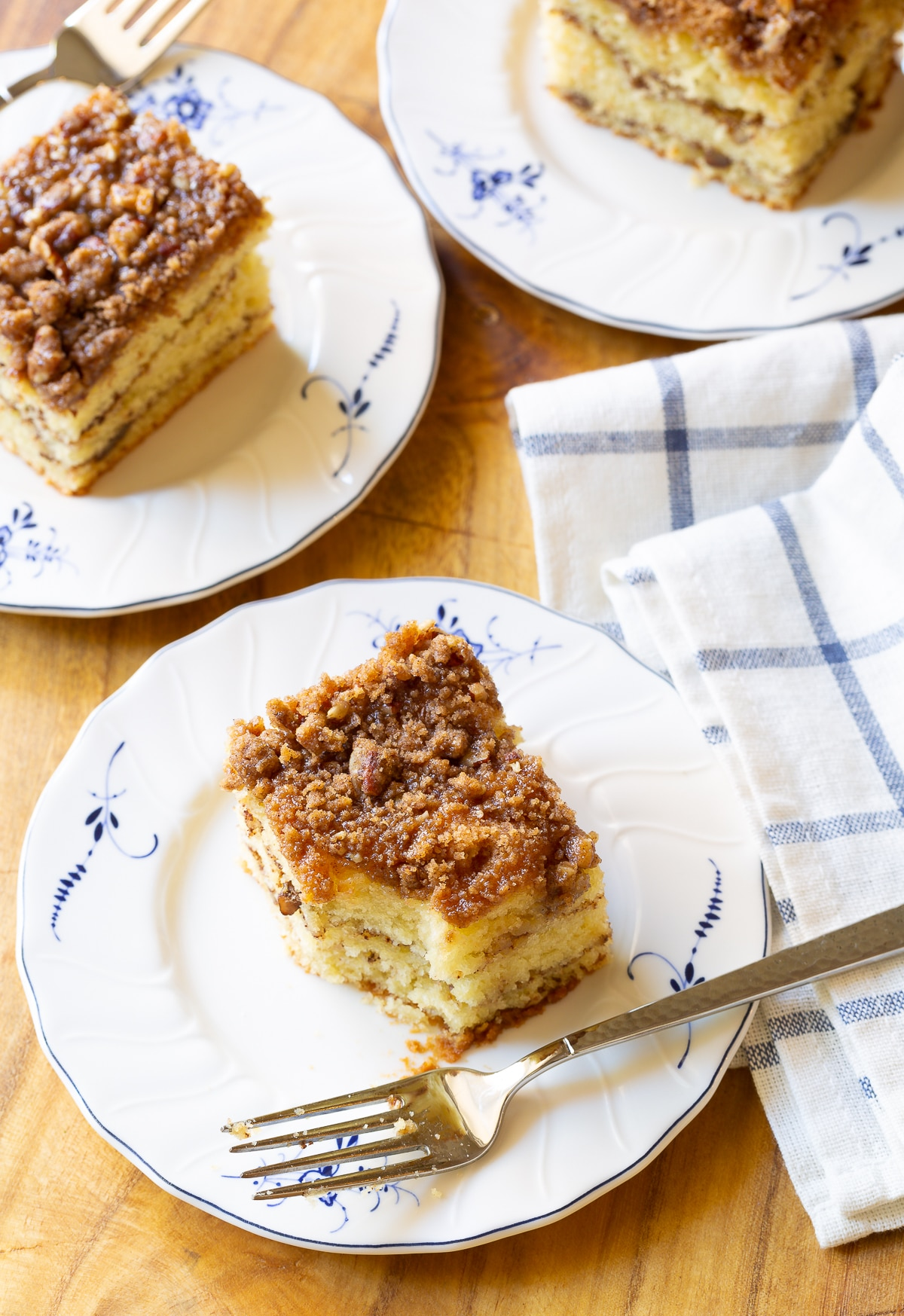 Kahlua Coffee Cake Recipe #ASpicyPerspective #coffee #cake #snack #breakfast #holidays
