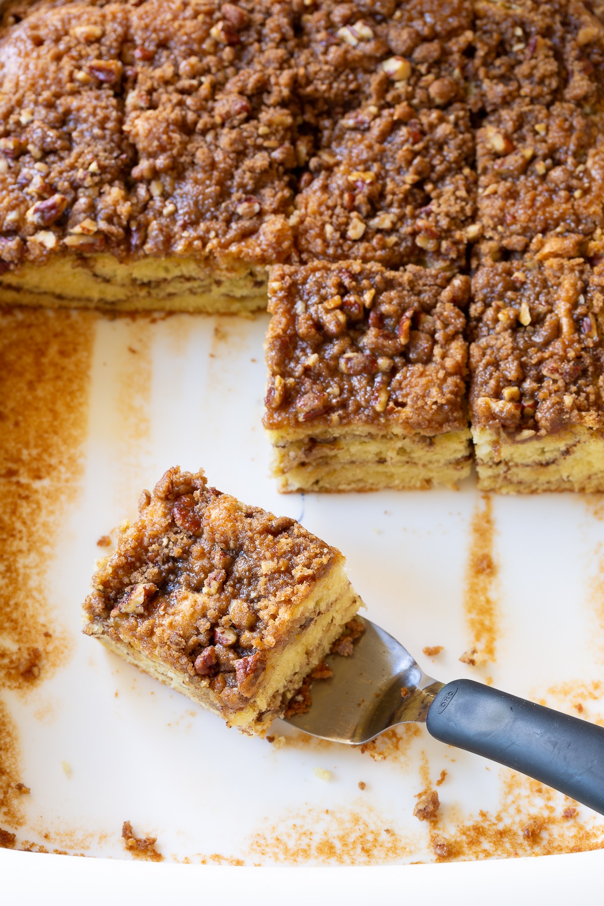 How To Make Coffee Cake (Recipe) #ASpicyPerspective #coffee #cake #snack #breakfast #holidays