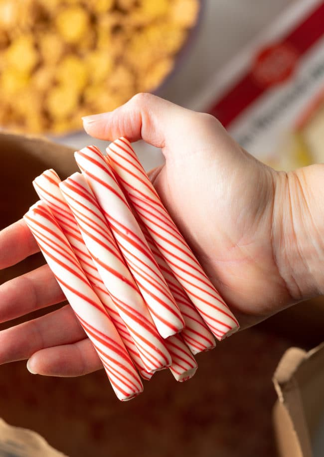 Red Band Peppermint Sticks