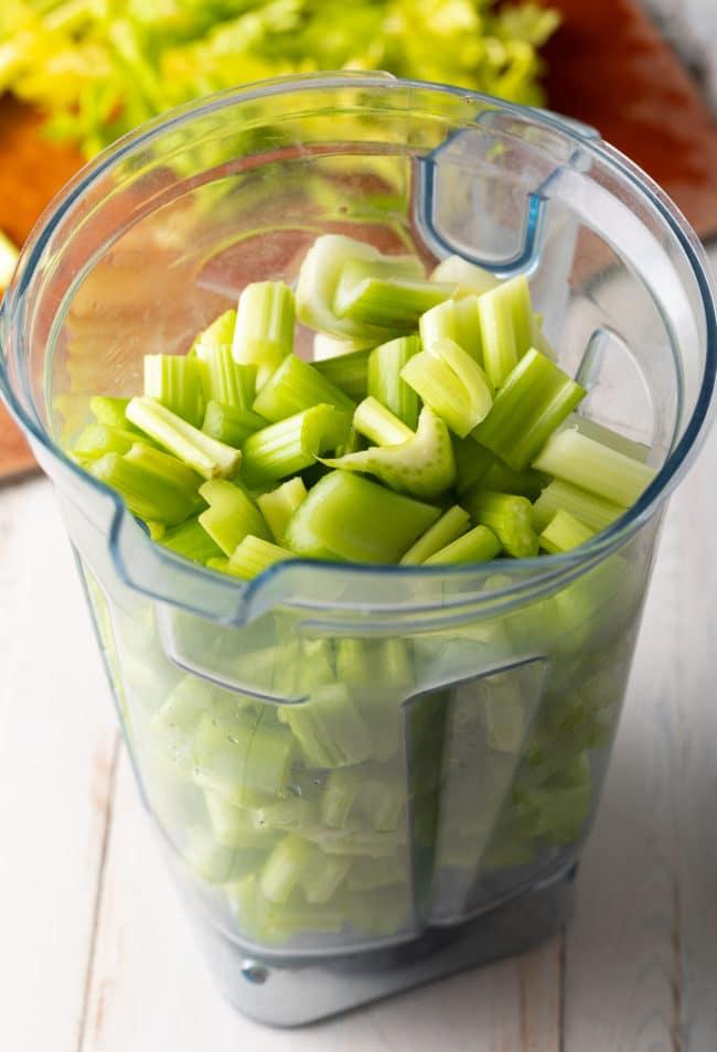 How To Make Celery Juice In the Blender (Recipe) #ASpicyPerspective #celery #celeryjuice #celeryjuicebenefits #medicalmedium #cleanse #healing