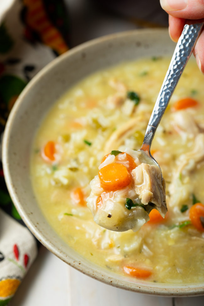 Healthy Chicken and Rice Soup