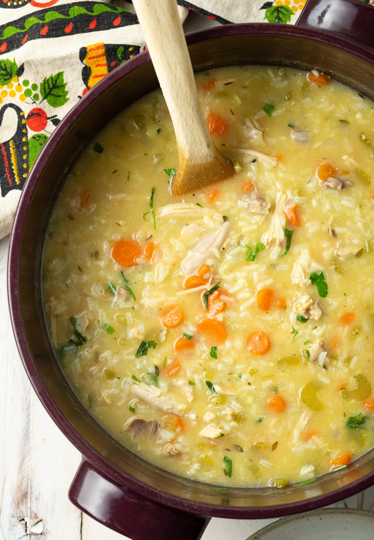 Creamy Chicken And Rice Soup A Spicy Perspective