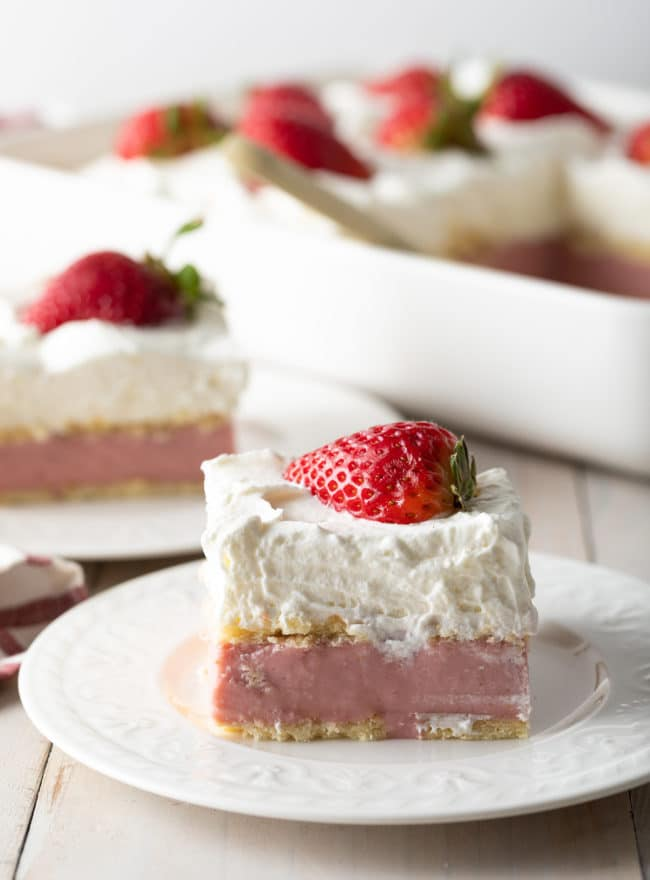 Homemade Strawberry Pudding Recipe #ASpicyPerspective #pudding #strawberry #southern #homemade #fresh #fromscratch #easter #spring #summer #valentinesday #strawberries