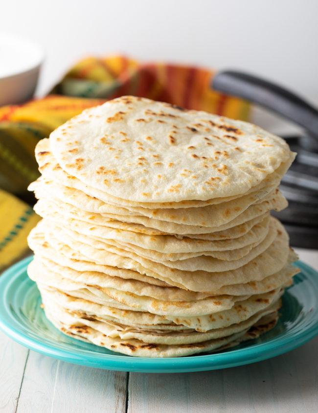 Easy Flour Tortilla Recipe