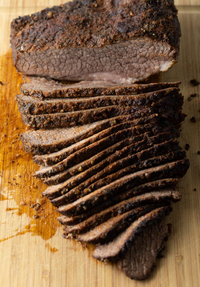tender beef brisket made in the slow cooker