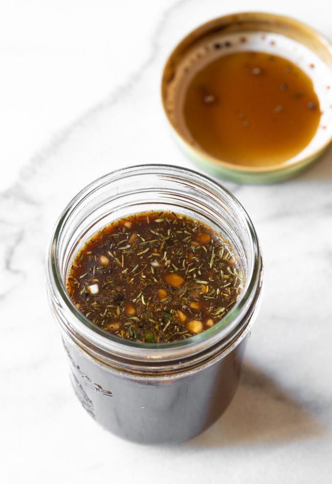 balsamic vinegar dressing