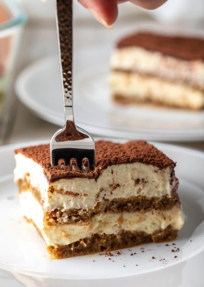 How To Make Tiramisu (Recipe & VIDEO) #ASpicyPerspective #italian #mascarpone #espresso #holiday #dessert #cake #coffee #cocoa #rum
