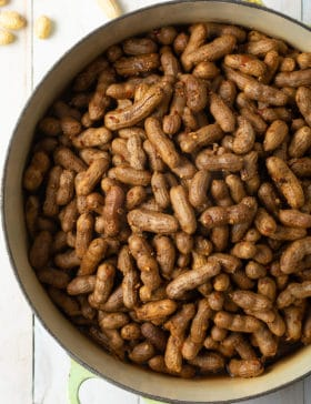 Cajun Boiled Peanuts Recipe (3 Ways!) #ASpicyPerspective #instantpot #pressurecooker #stovetop #crockpot #slowcooker #southern #peanuts