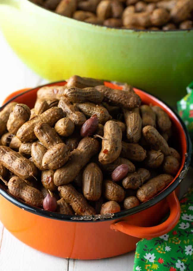 Crock Pot Boiled Peanuts Recipe (3 Ways!) #ASpicyPerspective #instantpot #pressurecooker #stovetop #crockpot #slowcooker #southern #peanuts