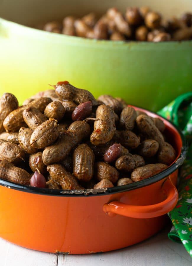 Easy Cajun Boiled Peanuts Recipe (3 Ways!) #ASpicyPerspective #instantpot #pressurecooker #stovetop #crockpot #slowcooker #southern #peanuts