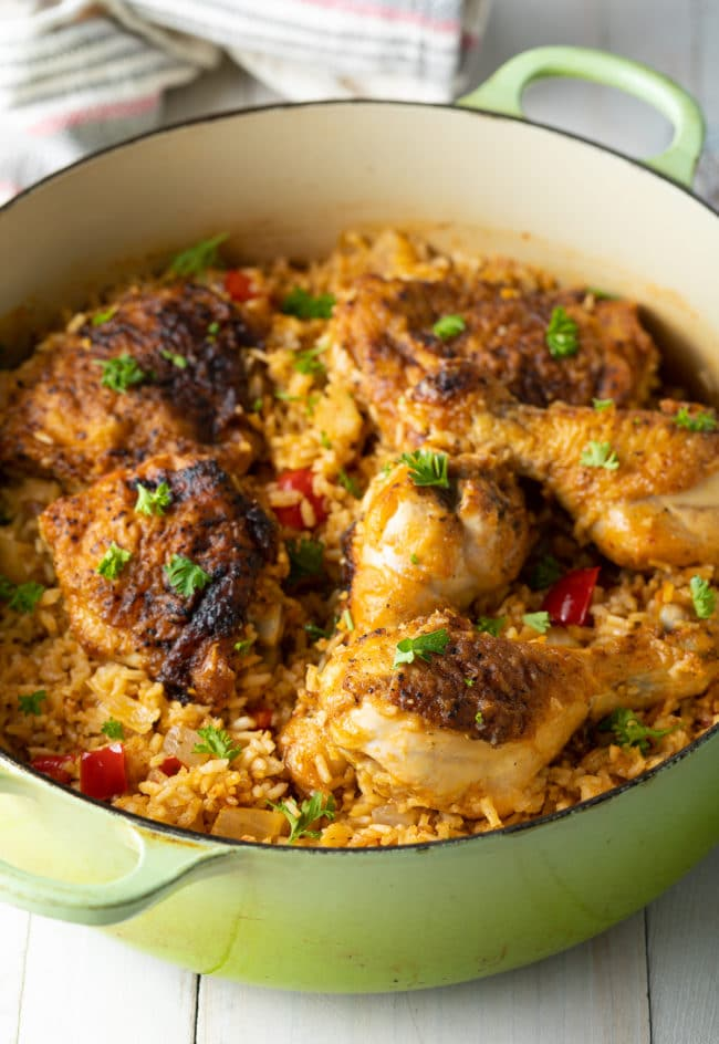 Cuban Arroz Con Pollo Recipe