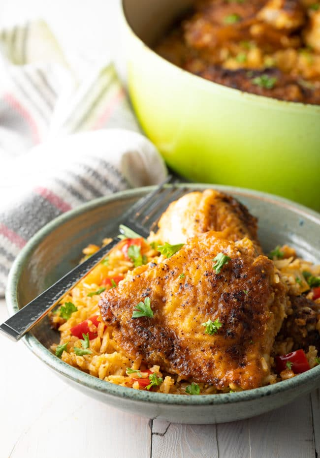 Cuban Chicken and Rice Recipe