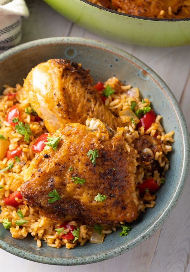 Arroz Con Pollo Cubano Recipe