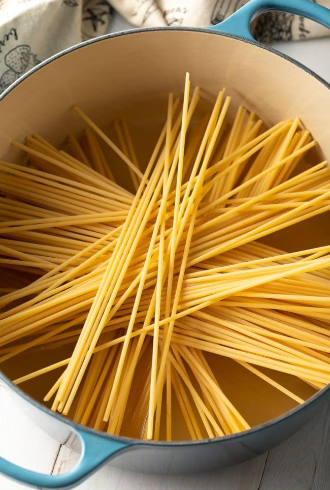 Pasta for Cacio e Pepe (Recipe) #ASpicyPerspective #cacio #pasta #parmesan #pecorino #pepper #italian #best #holiday #comfortfood #carbs
