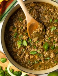 Zesty New Mexico Chile Verde (Green Chili)