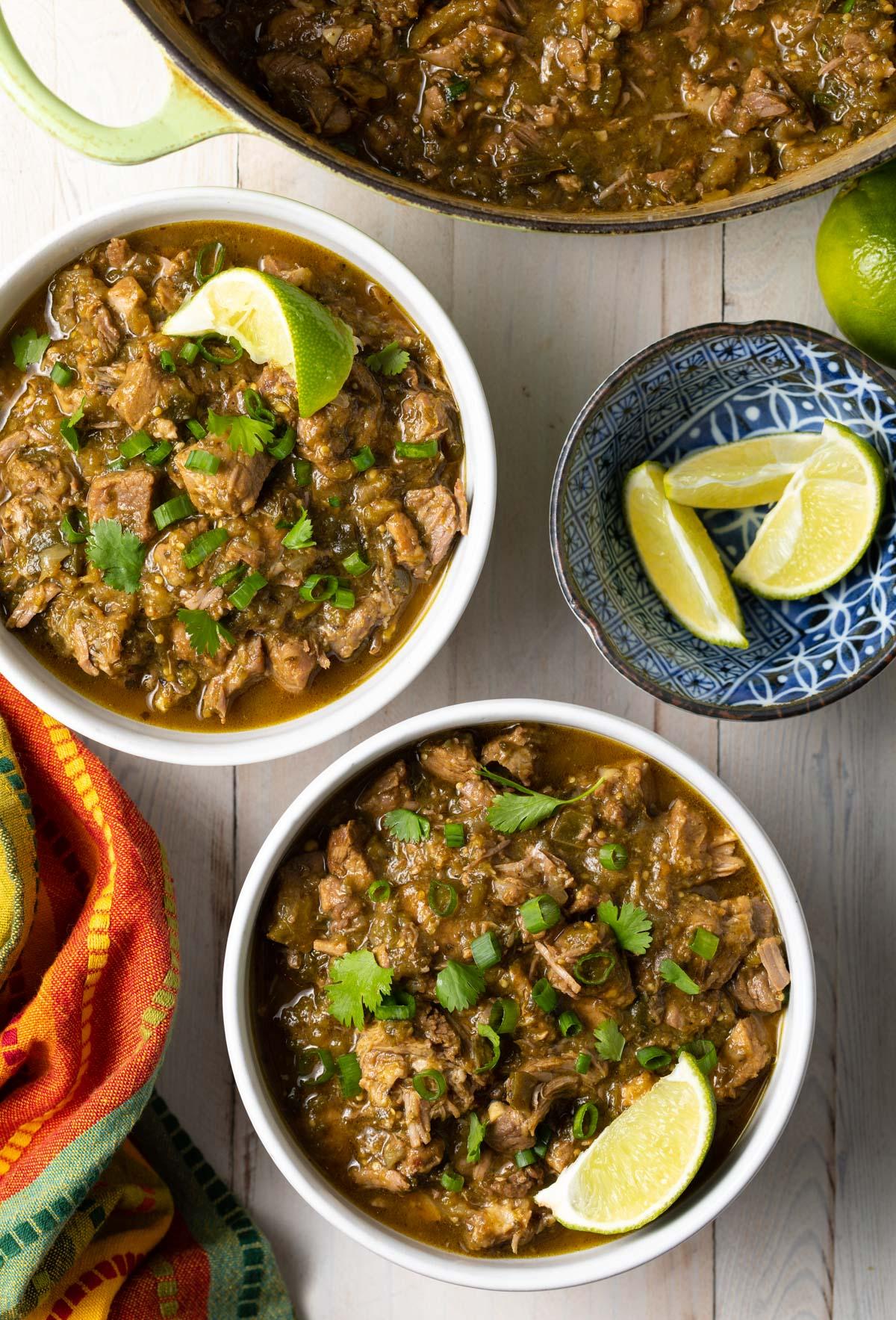 Pork Green Chili Recipe New Mexico Chile Verde A Spicy Perspective