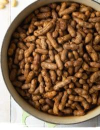 Boiled Peanuts Recipe (3 Ways!) #ASpicyPerspective #instantpot #pressurecooker #stovetop #crockpot #slowcooker #southern #peanuts