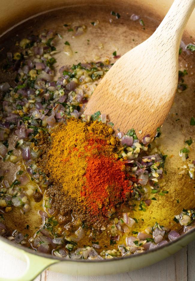 Saute the Spices