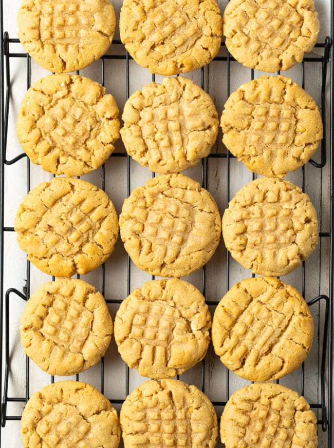 Fabulous Peanut Butter Cookies Recipe #ASpicyPerspective #cookies #PNB #peanut #peanutbutter #best #holiday #christmas #halloween #easter