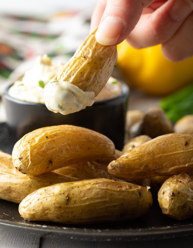 easy lemon herb aioli pairs well with nearly any dish