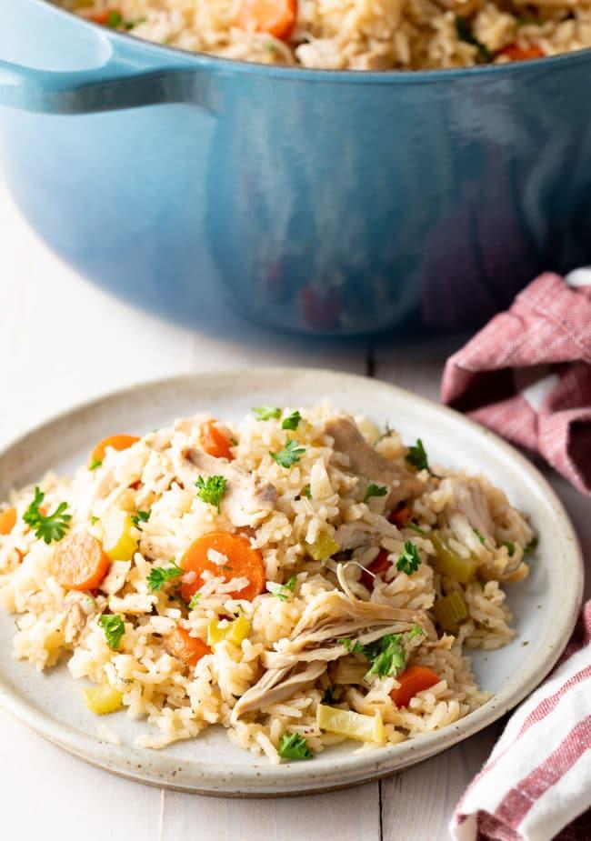Best Chicken and Rice (Recipe) #ASpicyPerspective #chicken #rice #instantpot #crockpot #slowcooker #southern