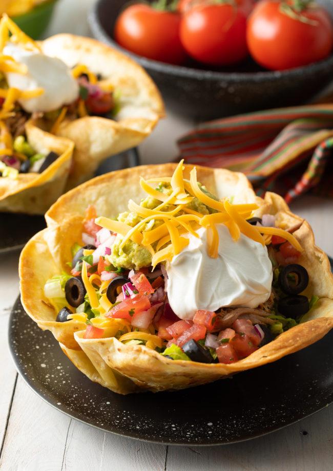Tortilla Bowls Recipe