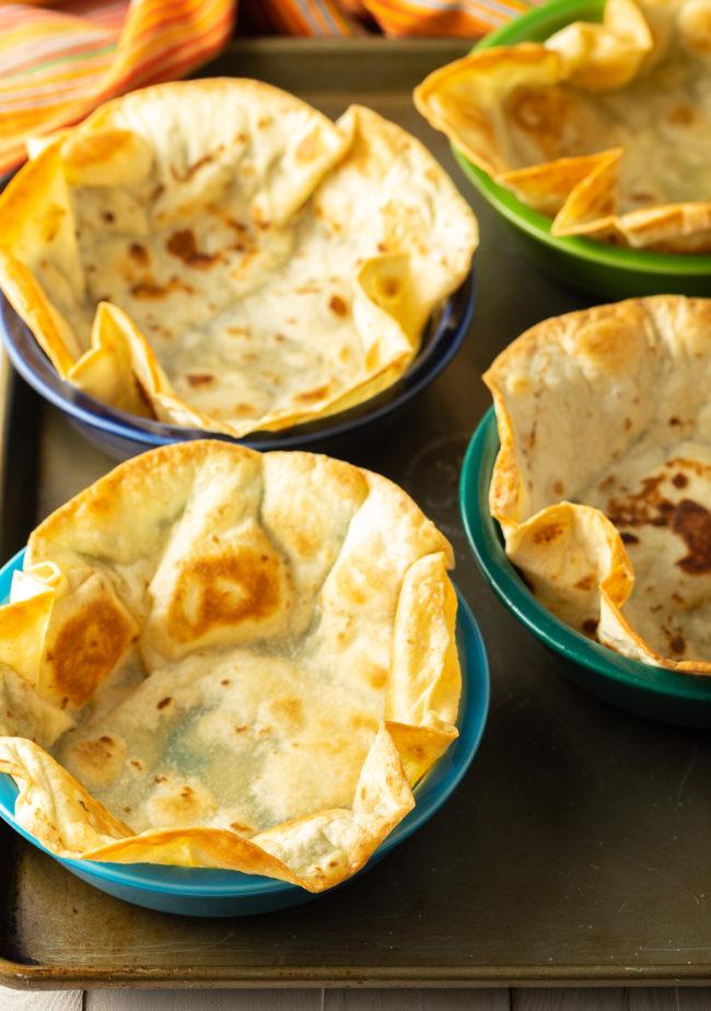 Taco Bowl Shells