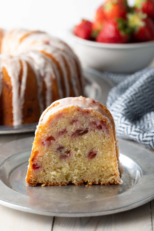 Strawberry Yogurt Cake Recipe