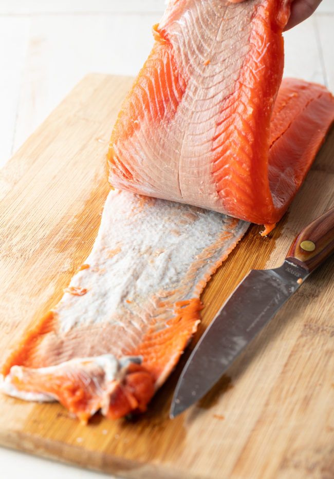 Remove Fish Skin (Cooking Fish 101) #ASpicyPerspective #howto #tutorial #fish