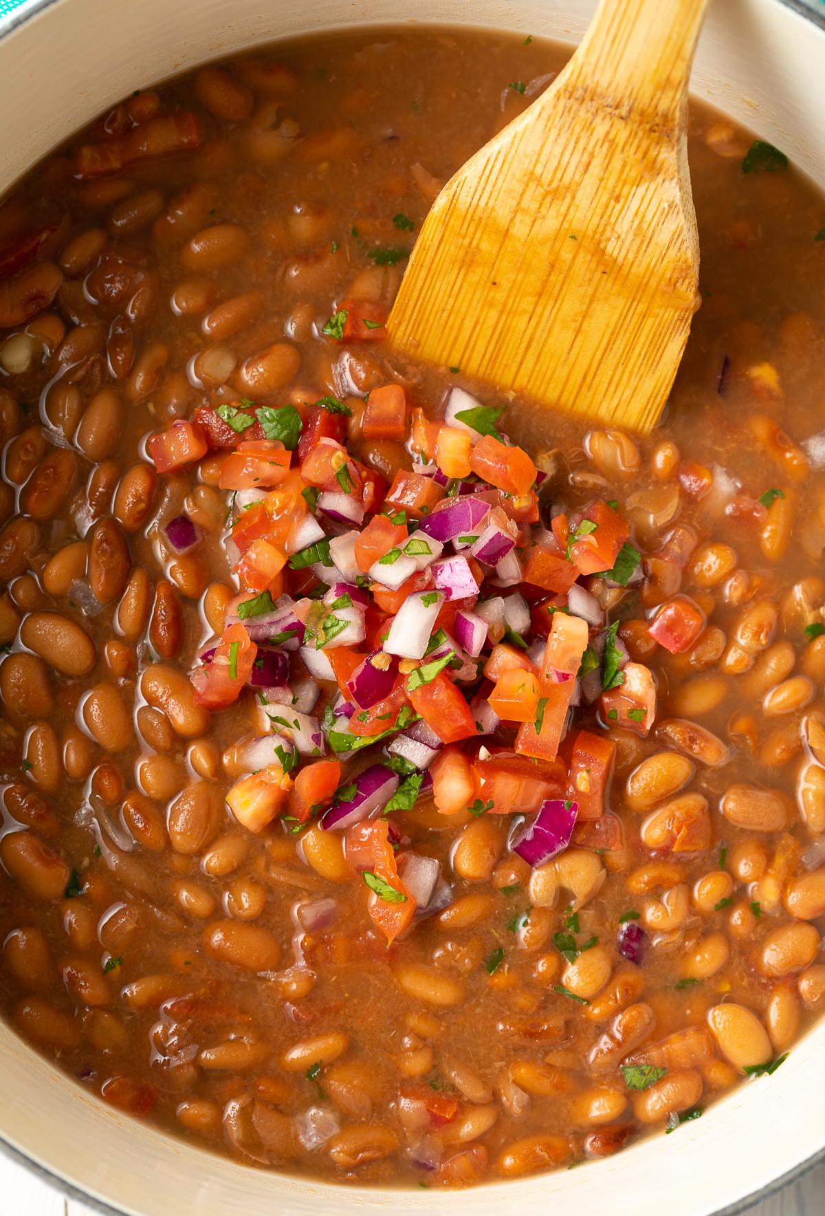 Frijoles De La Olla Mexican Pinto Beans Recipe A Spicy Perspective
