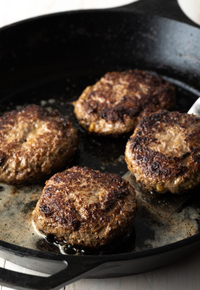 perfect burgers made on the stovetop or grill