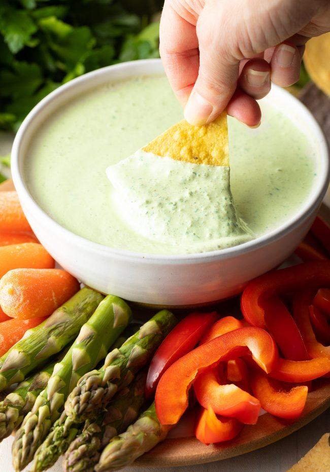 creamy chimichurri sauce recipe